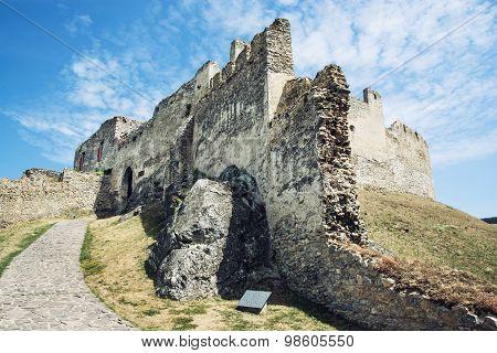 Ruins Of Beckov Castle, Slovak Republic