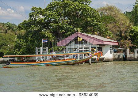 Traditional boat in Bangkok