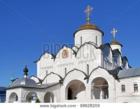 Intercession Cathedral in the Intercession Nunnery, Suzdal, Russia
