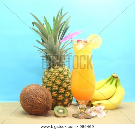 Fruit And Tropical Drink