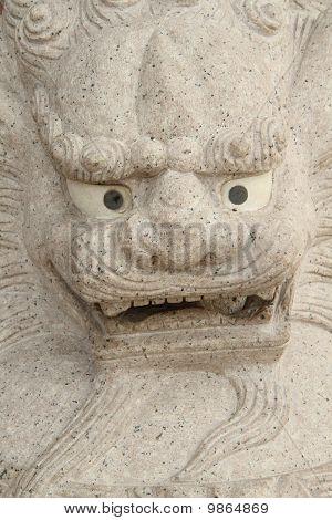 Tutelaryreclining tutelary of Buddha
