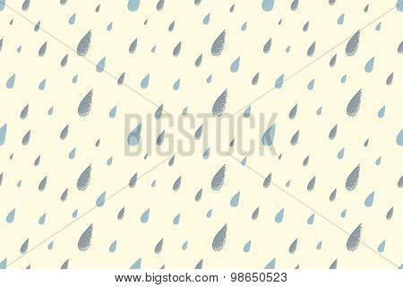 Summer rain pattern