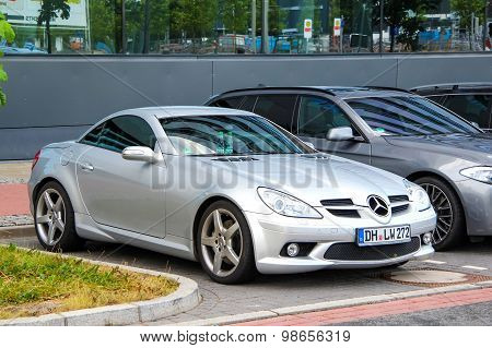Mercedes-benz R171 Slk-class