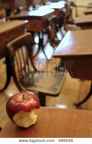 Classroom And Apple