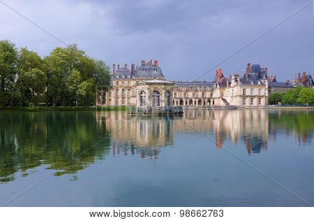 Park and royal residence in Fontainebleau