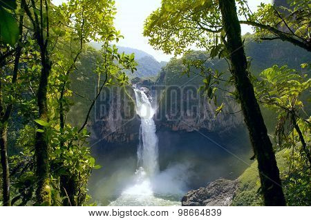 San Rafael Falls. Ecuador