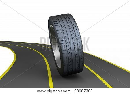 Tires On The Highway