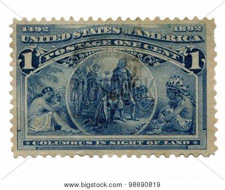 Columbus Stamp US