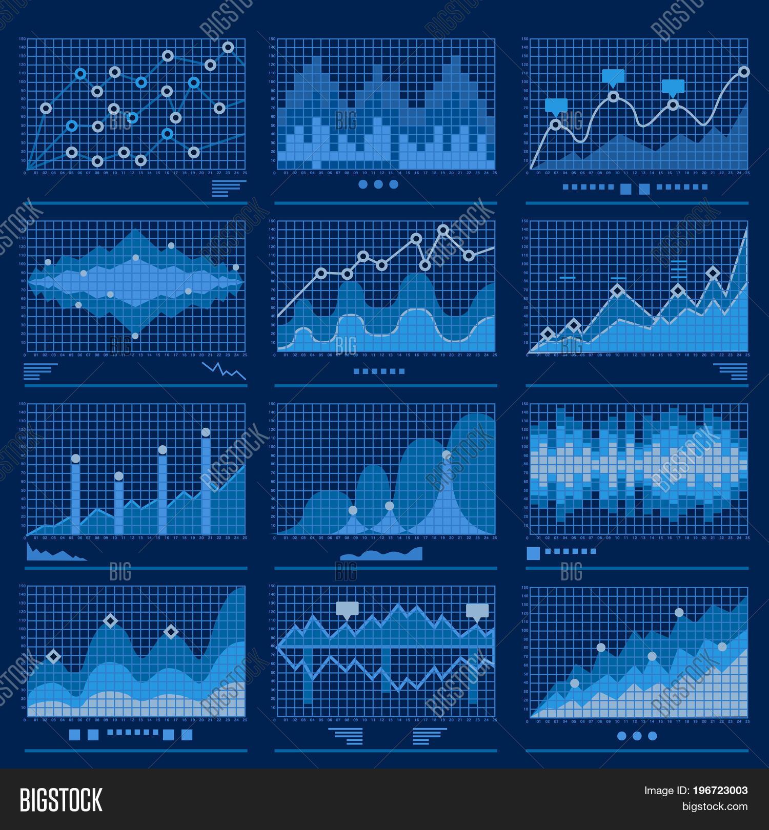 Vector y foto big data blueprint prueba gratis bigstock big data blueprint data analytics blue background vector illustration malvernweather Gallery