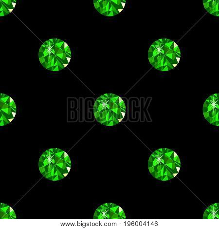 Diamond seamless pattern black background vector fashion, transparent,  , carat,
