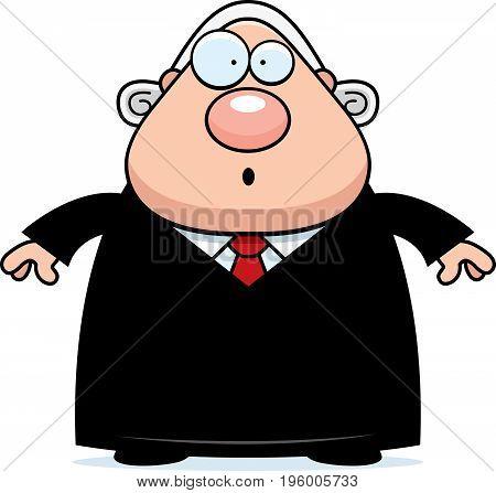Surprised Cartoon Judge