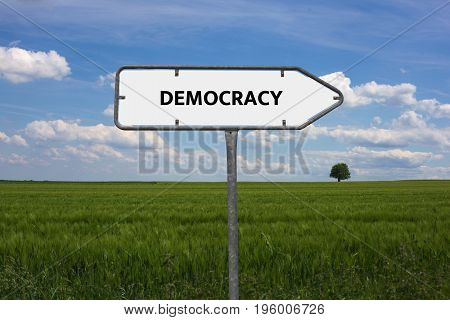 Democracy - Unfairness - Image With Words Associated With The Topic Community Of Values, Word, Image