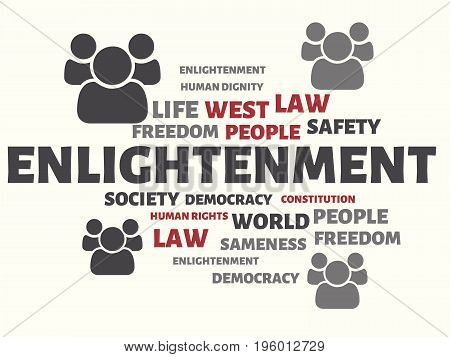 Enlightenment - Ignorance - Image With Words Associated With The Topic Community Of Values, Word, Im