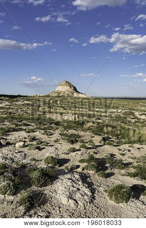 East Pawnee Butte on the Pawnee National Grasslands in Northeastern Colorado.