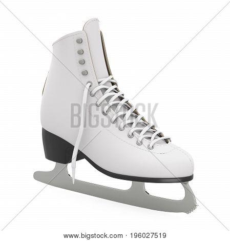 Figure Skate isolated on white background. 3D render