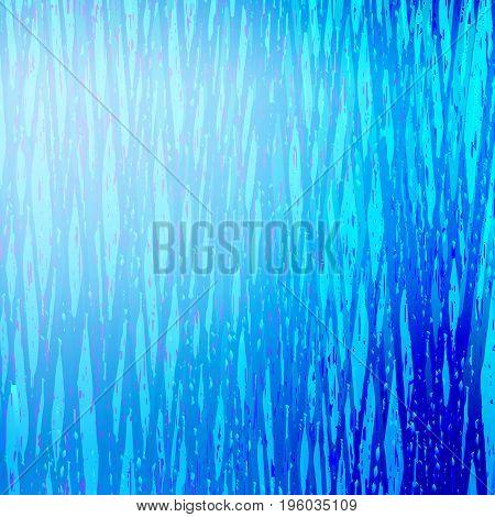Blue speckled and stripped vertical background. Vector illustration