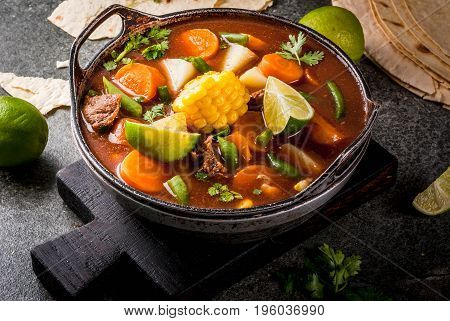 Vegetable Soup Mole De Olla