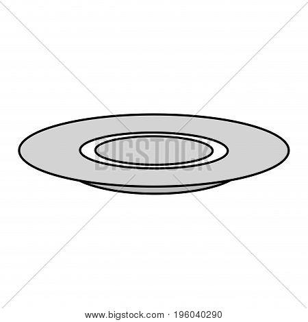 dish tableware isolated icon vector illustration design