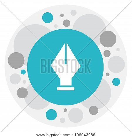Vector Illustration Of Knowledge Symbol On Ink Pen Icon