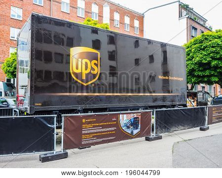 Ups Sustainable Delivery In Hamburg Hdr
