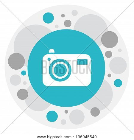 Vector Illustration Of Journey Symbol On Photocamera Icon