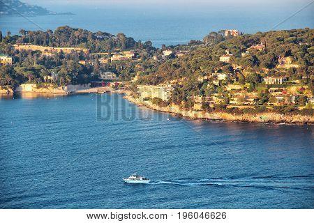 Saint-Jean-Cap-Ferrat, French riviera near Nice, Cote d'Azur, France