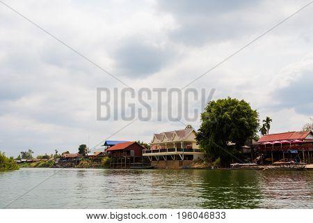Port On Mekhong Don Det