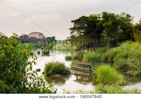 Mekhong River From Don Det