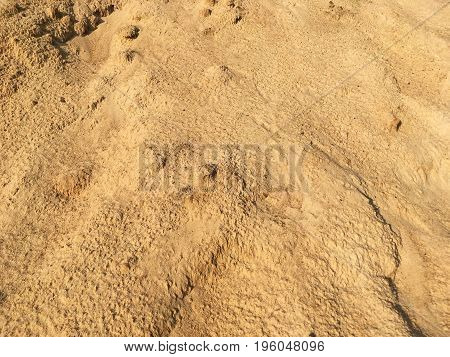 Yellow Sand Texture Background Pattern, natural sand