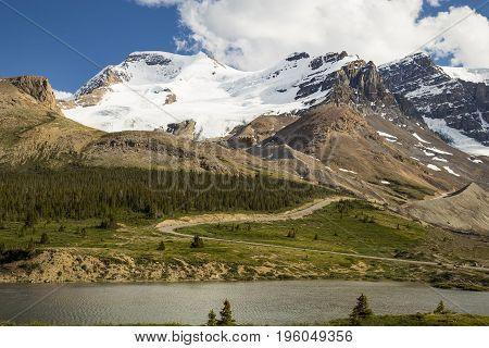 Canadian Rockies in Banff National Park in Alberta Canada.