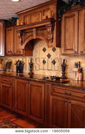 A beautiful custom kitchen