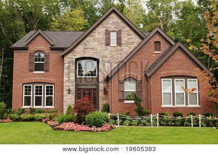 A beautifully custom built home