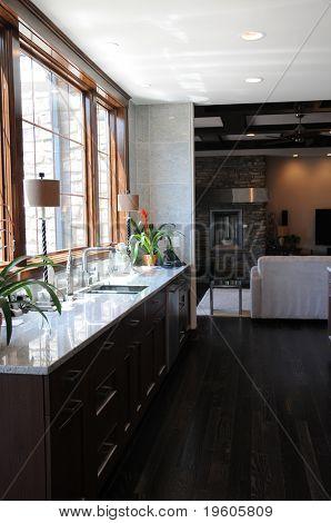 A beautiful modern kitchen