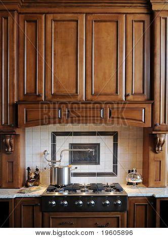 Beautiful custom gourmet kitchen