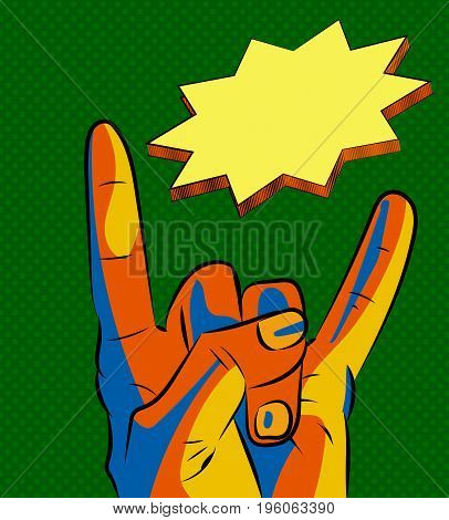 ILY sign iconsolated. Hand gestures symbol stock vector illustration.
