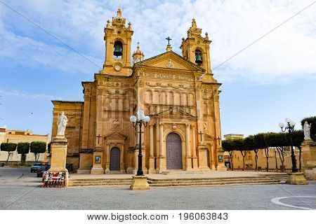 Cathedral in Mgarr Malta