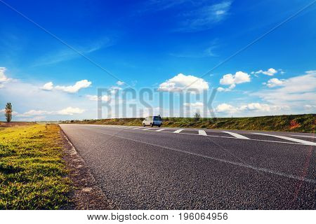 asphalt highway road