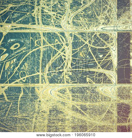Grunge texture, detailed macro closeup, vintage composition. With different color patterns: yellow (beige); brown; gray; blue; purple (violet)