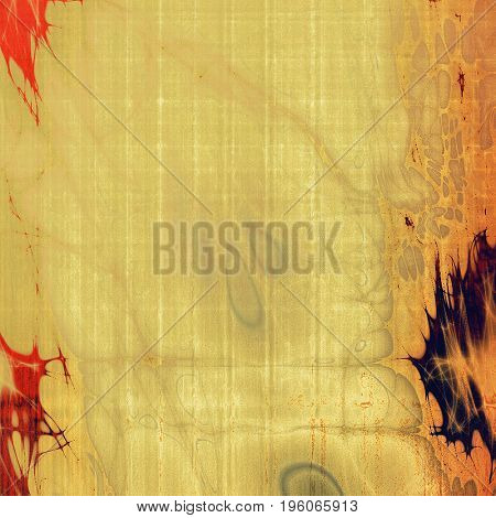 Retro design composition, grunge background or textured backdrop. With different color patterns: yellow (beige); brown; gray; red (orange); purple (violet)