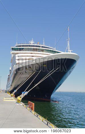 Tallin, Estonia-July 07, 2017: Holland America cruise ship