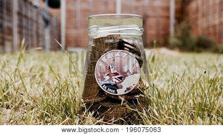 Silver Brexit Coin