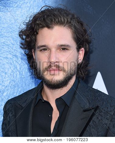 LOS ANGELES - JUL 12:  Kit Harington arrives for the Season 8 premiere of HBO's 'Game of Thrones' on July 12, 2017 in Los Angeles, CA