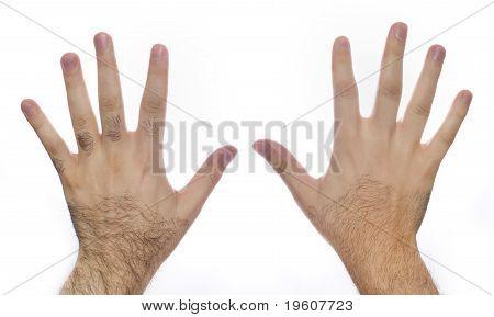 Hand Hair Laser Grooming