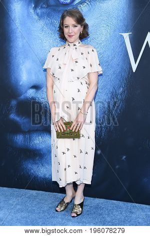 LOS ANGELES - JUL 12:  Gemma Whelan arrives for the Season 8 premiere of HBO's 'Game of Thrones' on July 12, 2017 in Los Angeles, CA