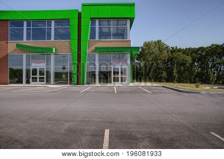 Unoccupied generic store front business or professional office space.