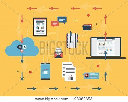 Cloud Computing And Analysis Financial Data.