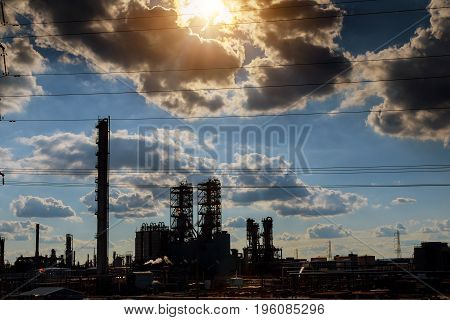 Oil And Gas Industry In Powerful Processing