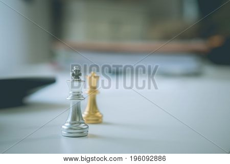 chess business a planning concept, leadership concept