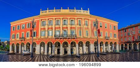 Famous Place Massena In Nice, France
