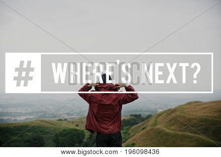 Adventure Begins Where's Next Concept